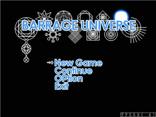 BARRAGE UNIVERSE Game Screen Shots