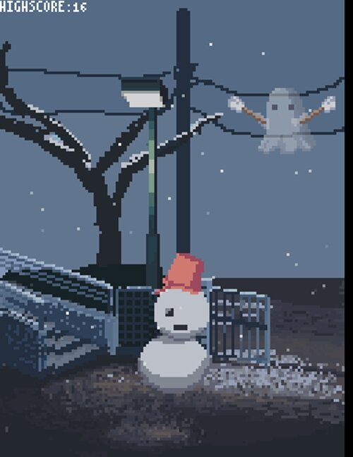 おばけ[ゆきだるま編] Game Screen Shot1