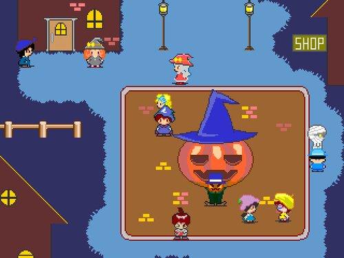 ハロウィン森のパンプキング Game Screen Shot