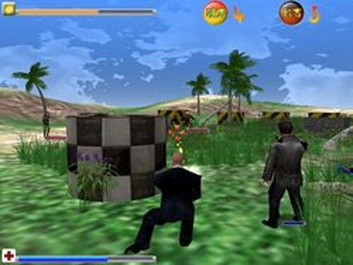 ペインボール・プラクティス Game Screen Shots