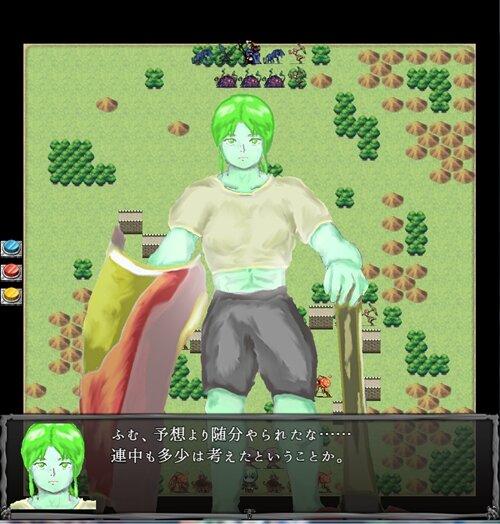 タクティクスデュエル Game Screen Shot1