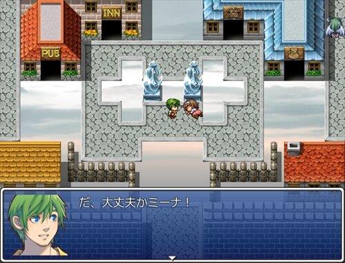 復讐のゴースト Game Screen Shot1
