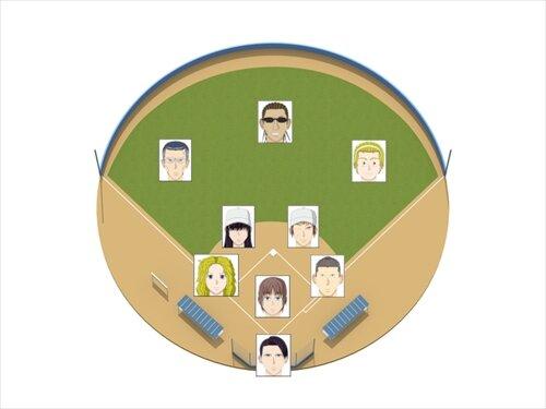 【スマホ対応】涙が出るとカキーンとしちゃう!? 野球演劇部プロローグ Game Screen Shot