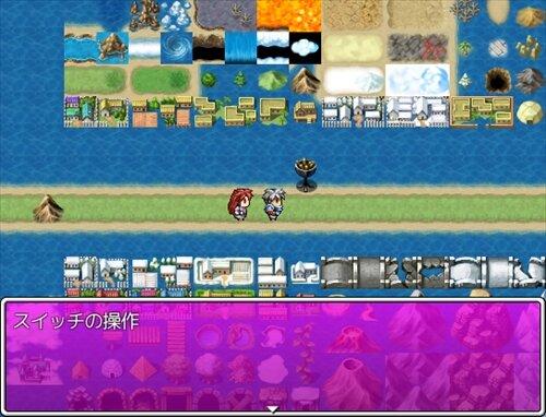 ゲームタイトルの描画 Game Screen Shot