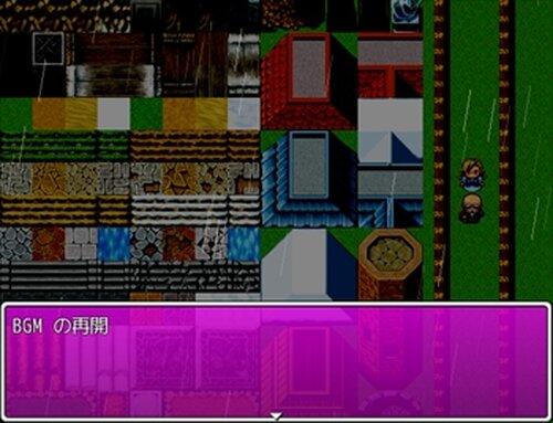 ゲームタイトルの描画 Game Screen Shot2