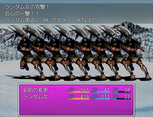 ゲームタイトルの描画 Game Screen Shot3