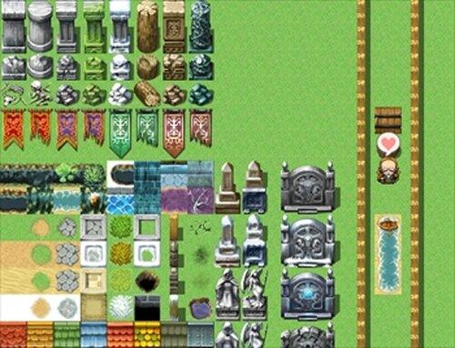 ゲームタイトルの描画 Game Screen Shots