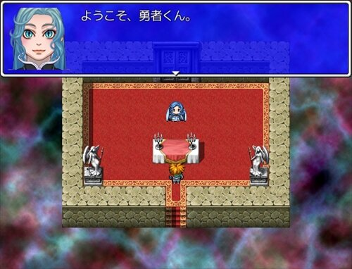 女神の聖剣 Game Screen Shot1