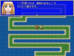 女神の聖剣 Game Screen Shot2