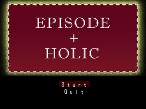EPISODE + HOLIC Game Screen Shots