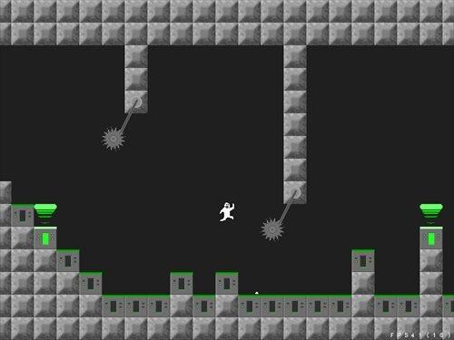 餅男ランニング! Game Screen Shot