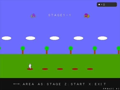 餅男ランニング! Game Screen Shot2