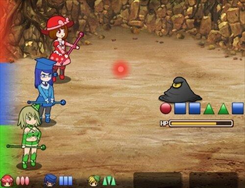 まるかく三姉妹 Game Screen Shots