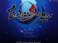 EvaliceSagaのゲーム画面