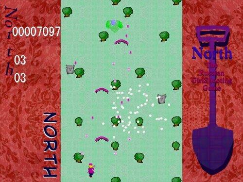 North ゲーム画面1