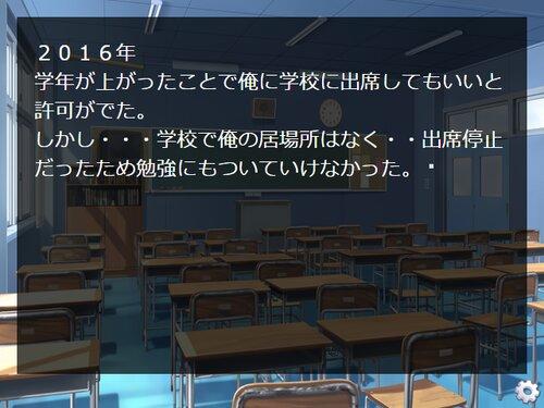 不登校とは意外と充実しているもんである Game Screen Shot1