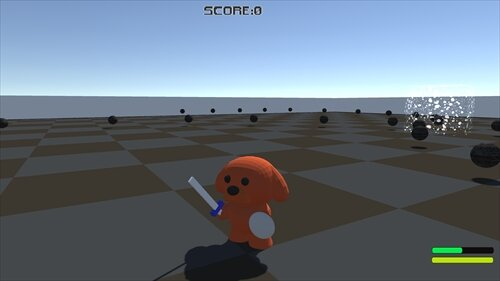 Battle of the Toy Poodle Game Screen Shot1