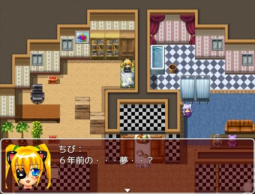ちびねこハート Game Screen Shot1