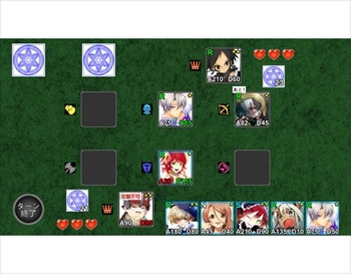CARD & ROLE Game Screen Shots