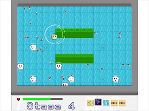 WarpShooter Game Screen Shots