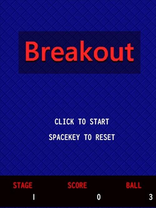 breakout Game Screen Shot2