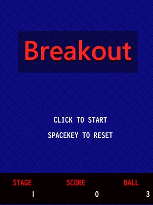 breakout Game Screen Shot2