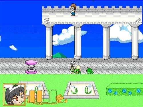 くろうさの東奔西走 Game Screen Shot1