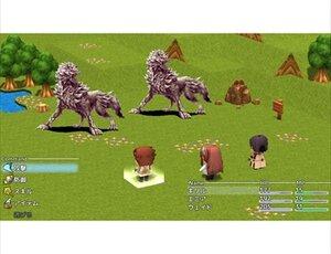 GLANETRIX 前編 Game Screen Shot