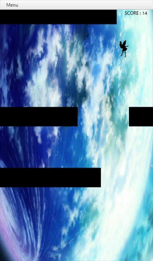 RakkaRakka Game Screen Shot1