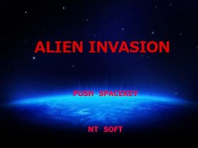 ALIEN INVASION Game Screen Shot2