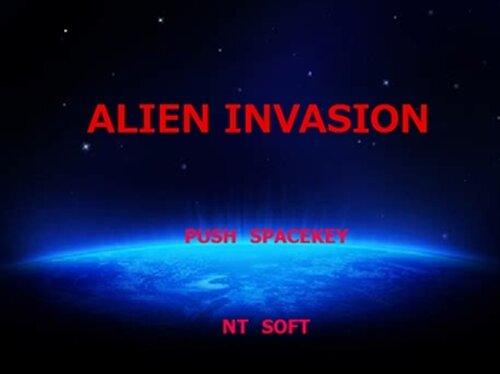 ALIEN INVASION Game Screen Shot2