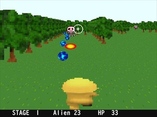 ALIEN INVASION Game Screen Shot3