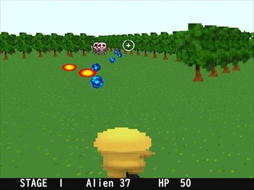 ALIEN INVASION Game Screen Shots