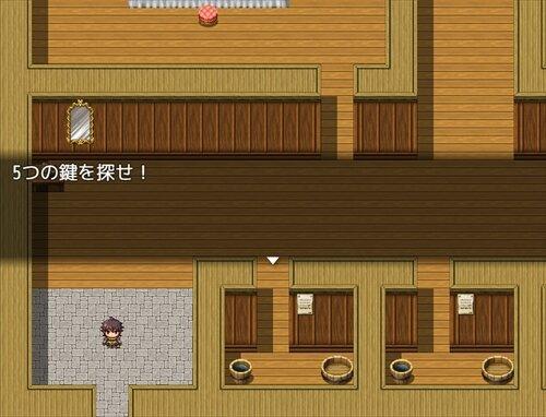 ノリと勢いで作った脱出ゲー Game Screen Shot1
