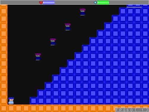 試作アクション Game Screen Shot1