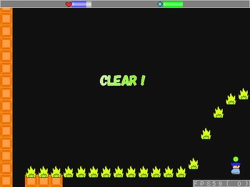 試作アクション Game Screen Shot4