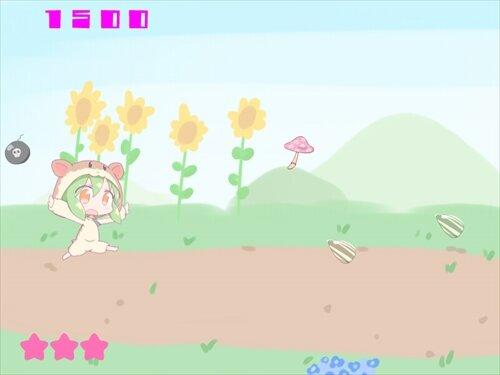 はむちゃんせんせいのゲーム Game Screen Shot1