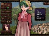 おしばな物語のゲーム画面