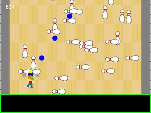 This is Bowling Game Screen Shot3