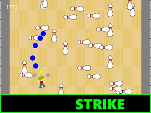 This is Bowling Game Screen Shots
