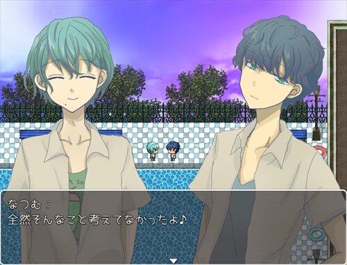 夕夏プールサイド【スマホ対応】 Game Screen Shot1