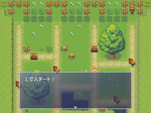 あみだくじRPG Game Screen Shot1