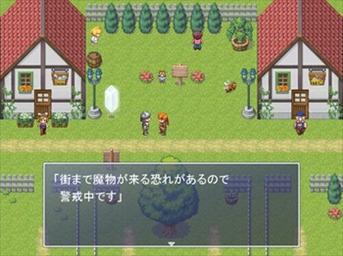 あみだくじRPG Game Screen Shot3
