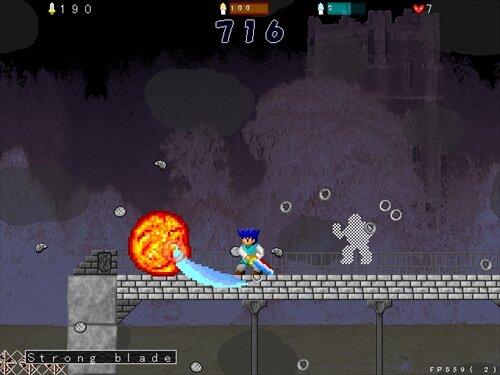 ブルーフェンサー Game Screen Shot