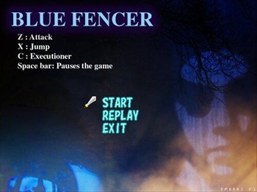 ブルーフェンサー Game Screen Shot2