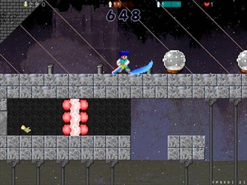 ブルーフェンサー Game Screen Shot3