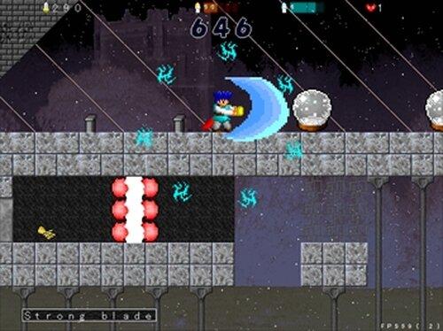 ブルーフェンサー Game Screen Shots