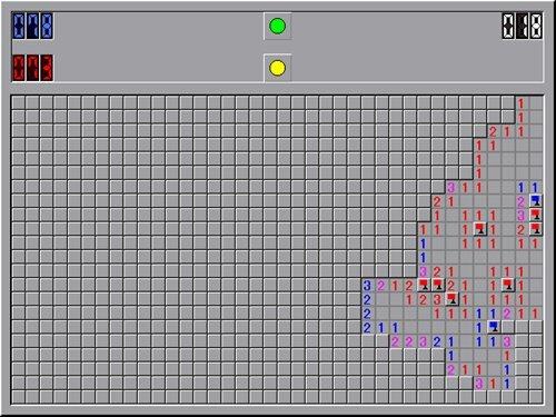 マインスイーパーW Game Screen Shot