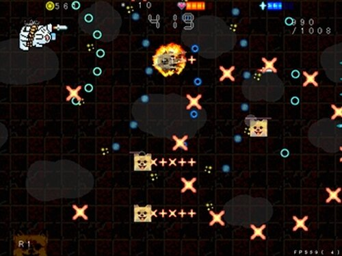 ネコバ十周年合作STG Game Screen Shot5