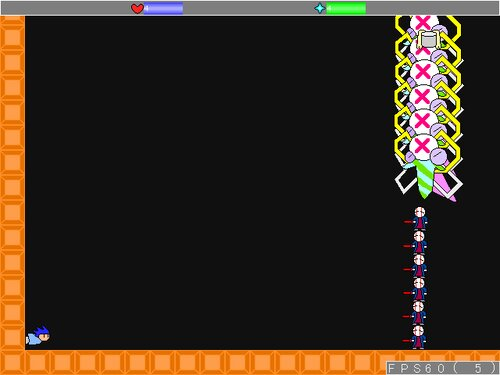 簡単なアクション Game Screen Shot1